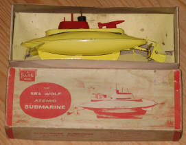 sutcliffe sea wolf atomic submarine