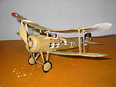 gillows nieuport 28 flying modelo